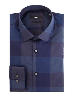 Jenno Slim Large Check Shirt