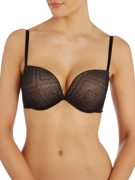 Wonderbra Full Effect lace plunge bra