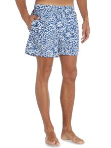 Gant Beach club printed swim Shorts