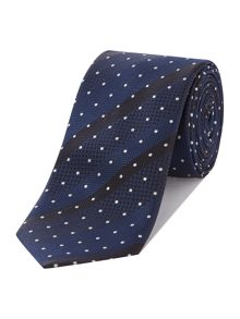 Hugo Boss Spot Stripe Tie