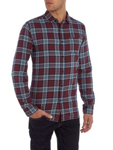 Jack & Jones Checked Button Through Shirt