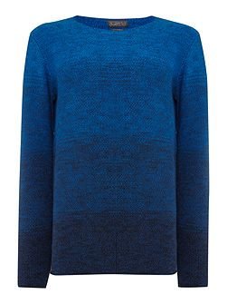 Basket Knitted Crew Neck Jumper