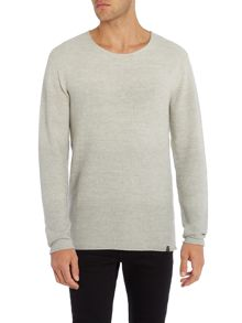 Jack & Jones Basket Knitted Crew Neck Jumper