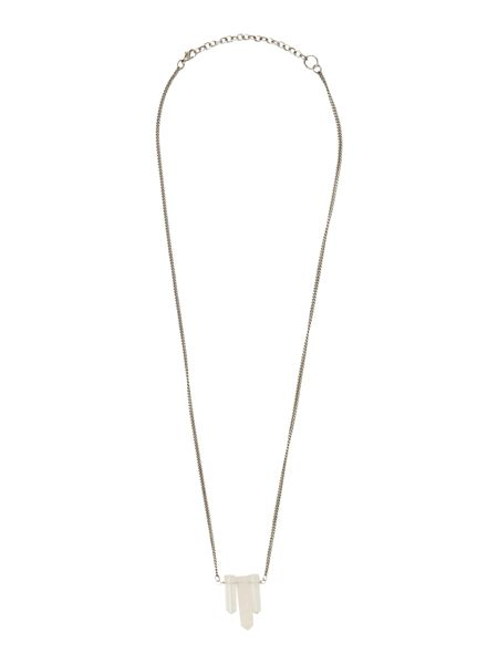 Gray & Willow Three Stone Necklace