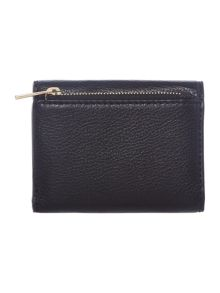 Michael Kors Liane black small fold over purse