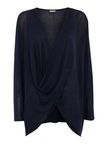 Vero Moda Long Sleeve Twist Blouse