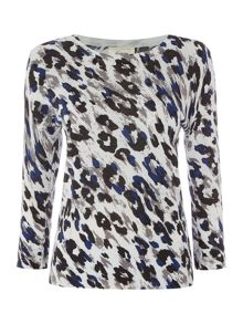 Linea Animal print jumper
