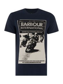 Barbour Racing Crew-Neck T-Shirt