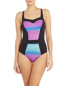 Speedo Auraglow one piece swimsuit