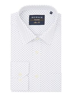 Slater classic collar shirt with circle and dot