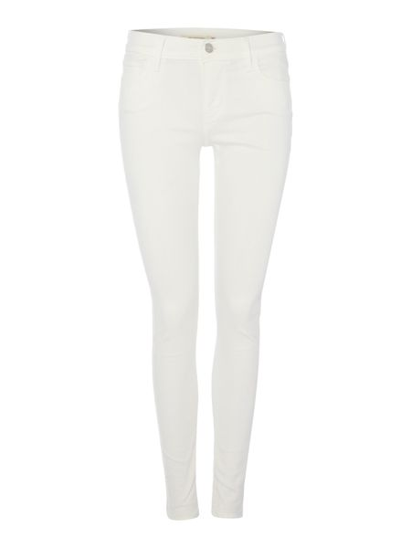 Levi's 710 super skinny jeans in white noise