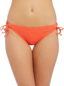 Bikini Lab Lace adjustable hipster bikini brief