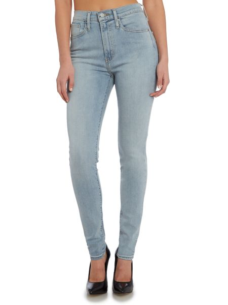 Levi's Mile high super skinny jean in summer fade