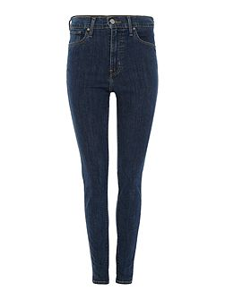 Mile high super skinny jean in blue mirage