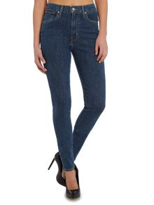 Levi's Mile high super skinny jean in blue mirage