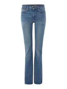 Levi's High rise flare jean in star gaze