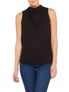Vila Sleeveless High Neck Top