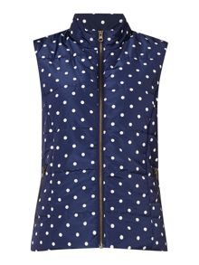 Dickins & Jones Gilly Polka Dot Gilet