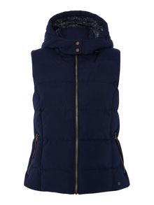 Dickins & Jones Gilet with Detachable Hood