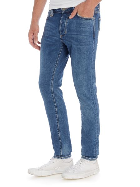 Neuw Hell indigo pepper skinny fit jean
