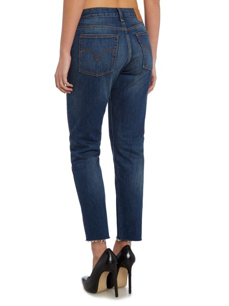 Levi's Wedgie icon fit jean in classic tint