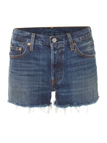 Levi's 501 denim shorts in echo park