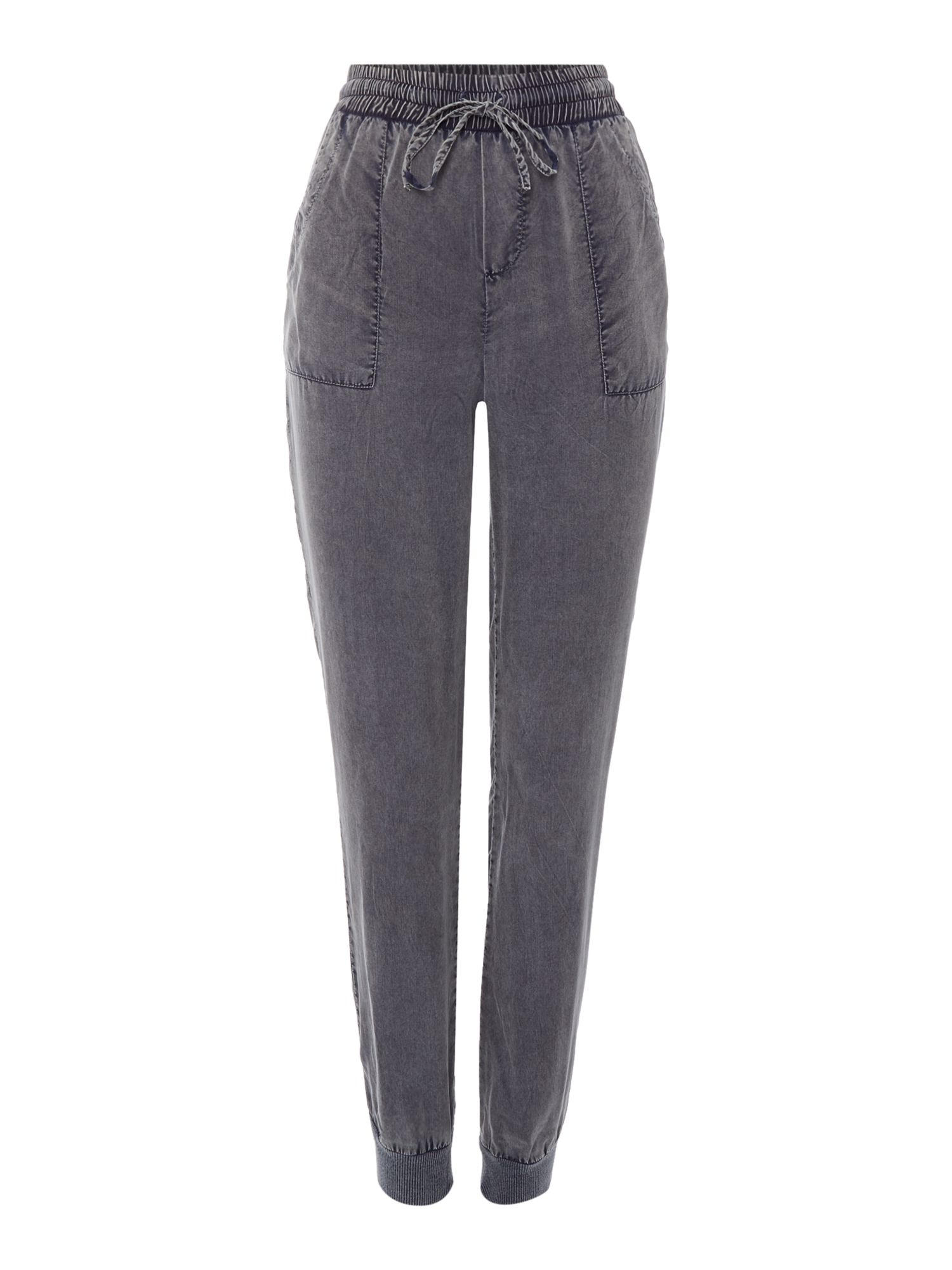 Label Lab Label Lab Utility detail easy trouser, Charcoal