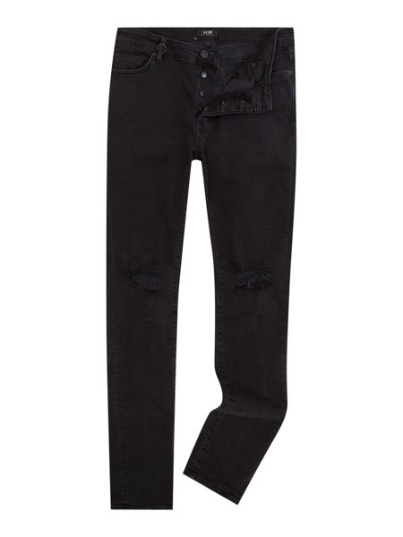 Neuw Hello busted black skinny fit jean