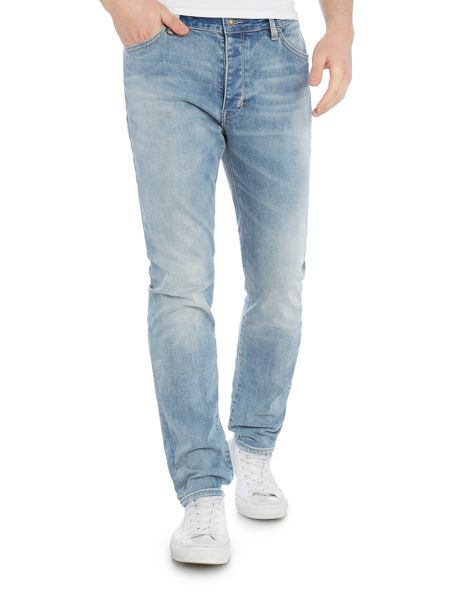 Neuw Boss restless air wash straight fit jeans