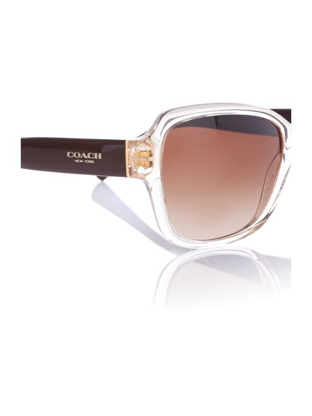 Coach HC8160  butterfly sunglasses