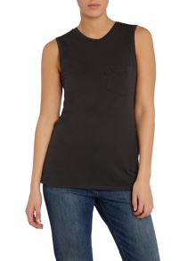 Levi's Levi`s muscle tee in pirate black