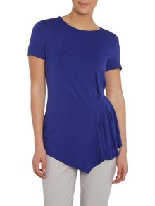 Vince Camuto Tee with pleated sides