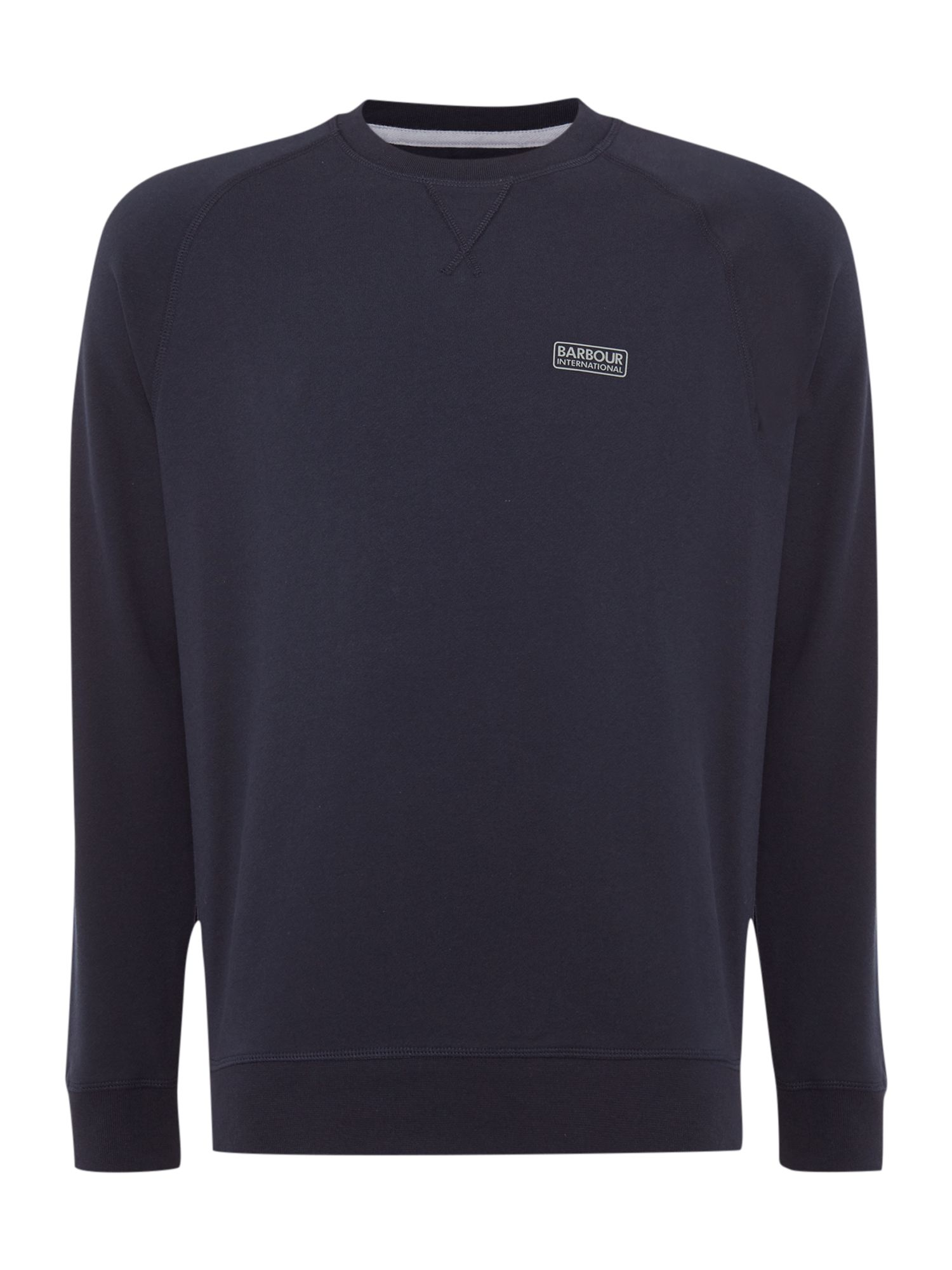 Men's Barbour Logo crew-neck sweatshirt, French Blue