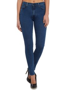 Levi's The Ringer line 8 jeans in trespasser blue