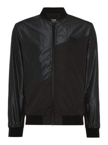 Jack & Jones Fly Pieced Coated Bomber Jacket