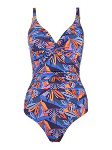 Biba Nouveau Trellis Goddess Twist Swimsuit