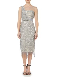 Little Mistress High Neck Lace Dress