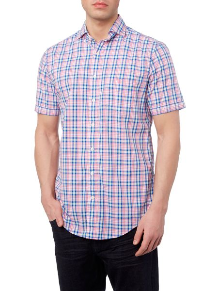 Gant Bright Check Short Sleeve Shirt