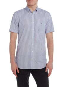 Gant Short Sleeve Poplin Striped Shirt