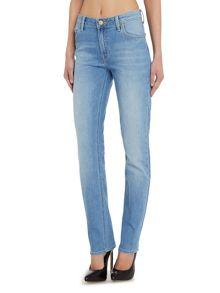 Marion mid rise straight leg jean