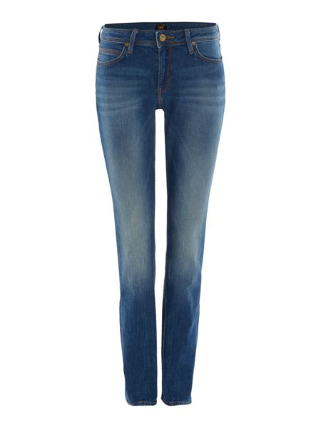 Lee Emlyn relaxed straight jean in authentic blue