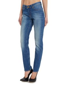 Emlyn relaxed straight jean in authentic blue