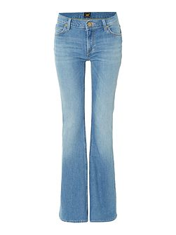 Annetta flare jean in authentic blue