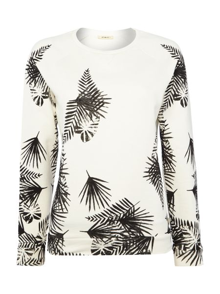 Lee Palm leaf print sweatshirt