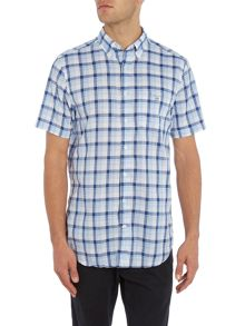 Gant Large Bold Check Short Sleeve Shirt