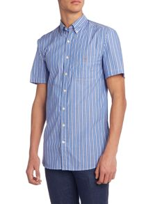 Gant Starboard Stripe Short Sleeve Shirt