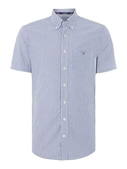 Banker Stripe Short Sleeve Shirt