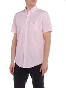 Gant Banker Stripe Short Sleeve Shirt