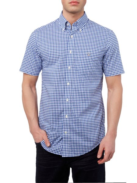 Gant Gingham Short Sleeve Shirt