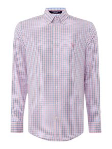 Gant Gingham Multi Colour Long Sleeve Shirt